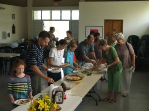 Pentesost Sunday and Potluck 008