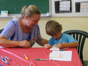 Our first kids summer craft session was attended by over 20 kids!