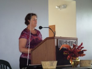 Thank you Rev Lorene Duin for filling in for worship services.