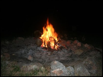 Campfire stories included