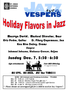 Holiday Jazz Vespers