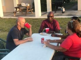 Church picnic fellowship