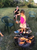 church picnic marshmallows