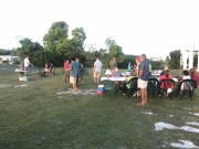 Church picnic pot luck